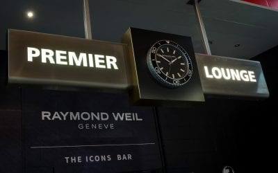 Presenting The Icons Bar by RAYMOND WEIL